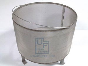 stainless steel brew in a basket beer brewing filter