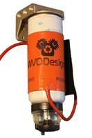 biodiesel fuel filter heater lets you run bio in the cold